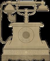Telefone antiquado