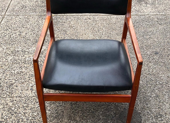 Solid Upholstered Retro Armchair in a Really Good Condition