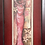Thumbnail: Lovely Vintage Framed Painting of a Floral Dress