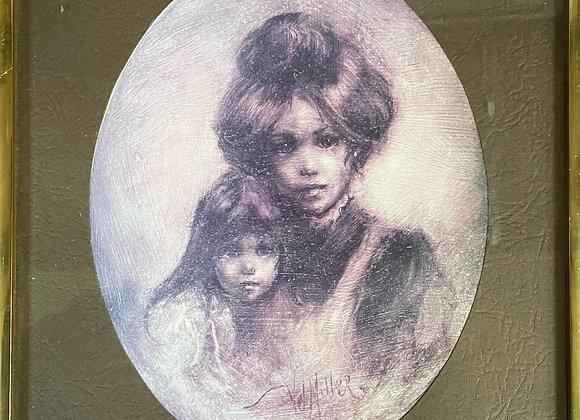 Beautiful Framed Print of Vel Miller's Artwork