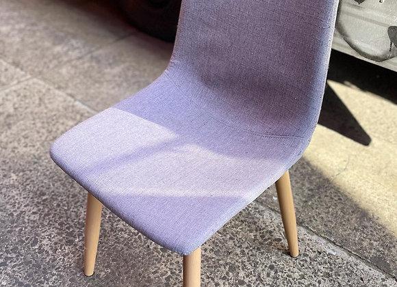 Scandinavian Style Upholstered Retro Mid-Century Chair