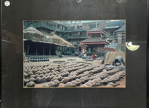 A Beautiful Framed print of South East Asian Market