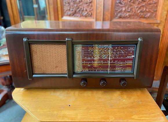 Large Wood Case Radiola made by AWA Limited (Australia)