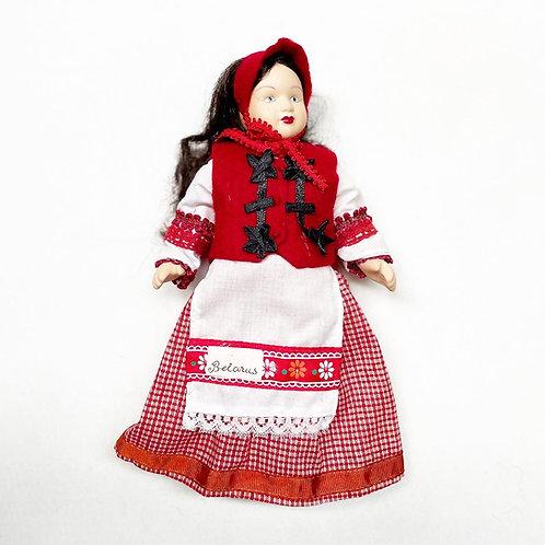 Original Exquisite 62-piece 100% Porcelain 'Dolls of the World' Collection