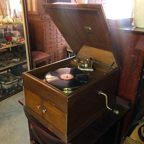 "Incredible HMV ""Zealand"" Table Model Gramophone made in C.1924 (England)"