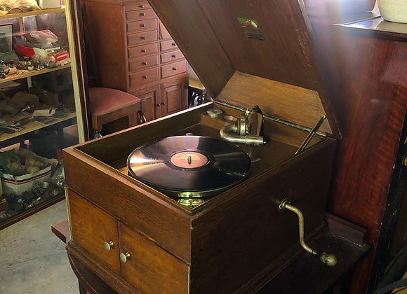 "Incredible HMV ""Zealand"" Table Model Gramophone made in C.1924 (England)"