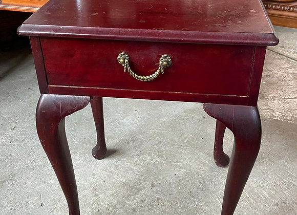 Pretty Small Queen Anne Bedside Table Manufactured by Kenray Furniture (Oakleigh