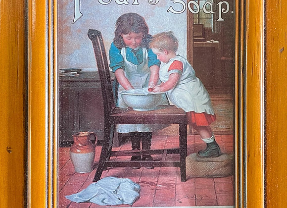 Gorgeous Original Pears' Soap Print