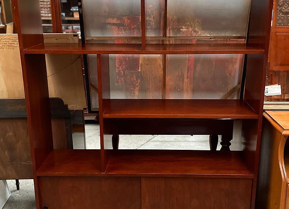Open Mid-Century Scandinavian Style Bookshelf manufactured by 'Kenray Furniture'