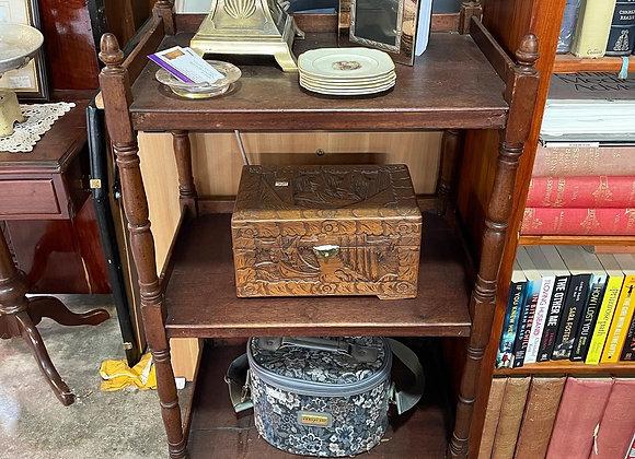 Pretty Antique 3 Tier Shelf
