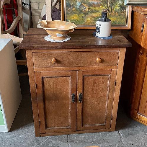Antique Victorian Side Cabinet