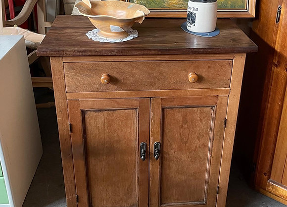 Antique Victorian Side Cabinet
