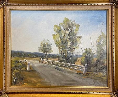 Artwork of Yarram Surroundings in Victoria Signed by Joanne Lilja