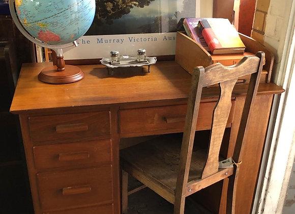 Solid Retro Office Desk in a Good Condition