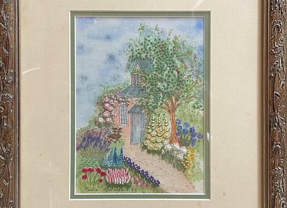 Handmade Artwork by Nadia Malaspina, 1993