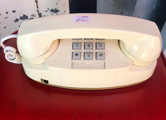 Vintage Bell Western Electric Princess Telephone Model 2702BM from C.1980s (USA)