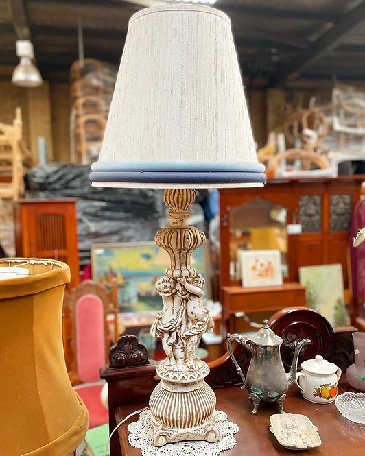 Spectacular Tall Vintage Ceramic Decorative Table Lamp from C.1960s
