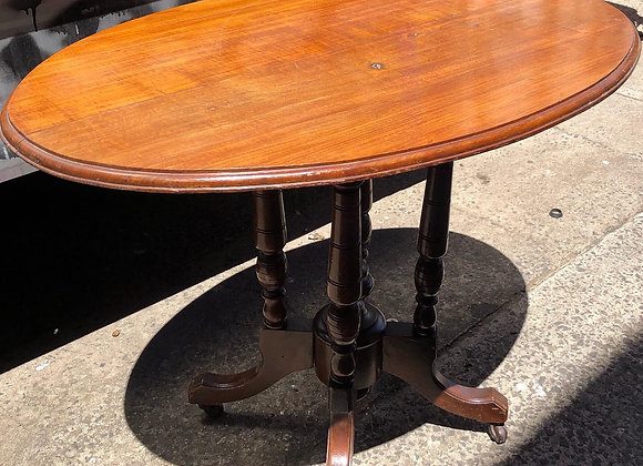 Victorian Oval Occasional Table