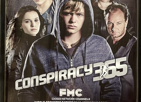 Large Size Gabrielle Lord's Conspiracy 365 TV Series Print