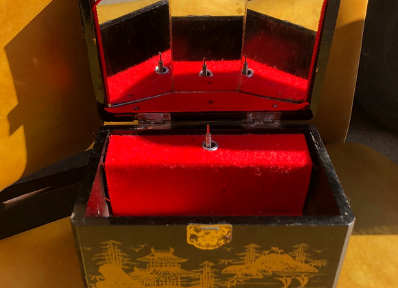 Small Vintage Japanese Jewellery Box