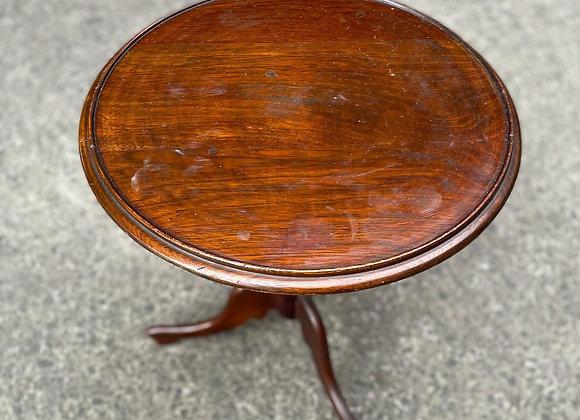 Pretty Small Round Cedar Coffee Table