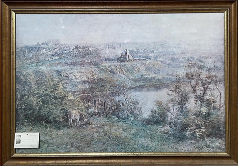 Print of 'View across the Yarra' by Frederick McCubbin