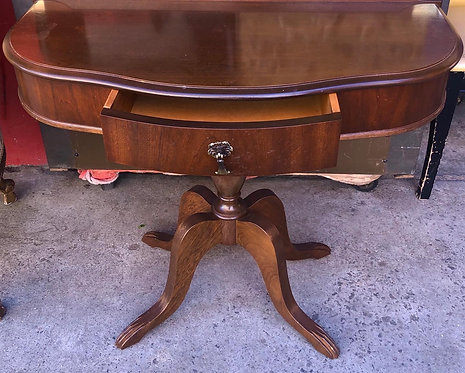 Vintage Rectangular Hall Table
