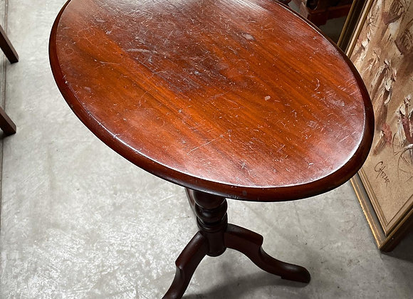 Small Oval Antique Occasional Table