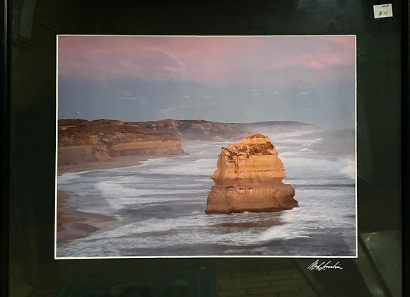 Beautiful Print a the picture of 12 Apostles with Original Artists Signature