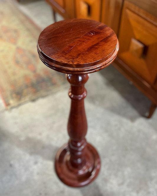 Good Quality Vintage Tasmanian Blackwood Pedestal