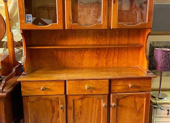 Solid Pine Kitchen Dresser in Good Condition