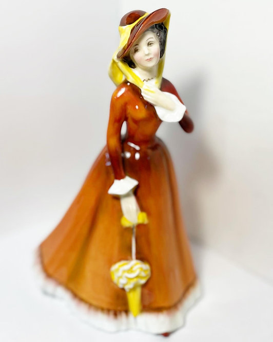 Rare Collectible 'Royal Doulton' Bone China Porcelain Figurine Julia from C.1974
