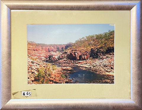 Printed Photograph of Australian Outback