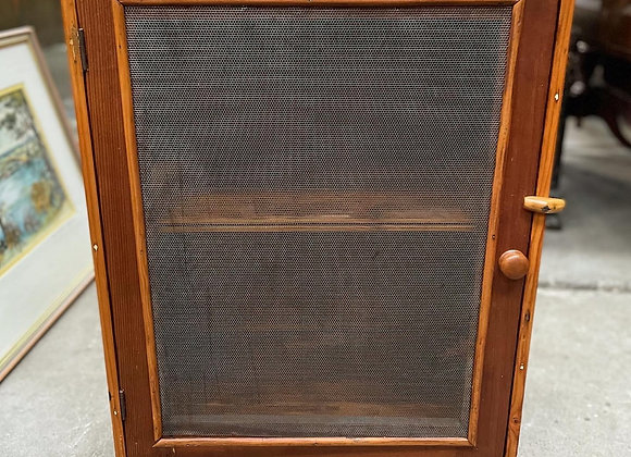 Custom Made Small Meat Safe with Galvanised Wire Mesh Doors