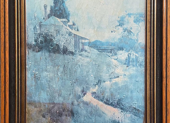 Good Quality Reproduction of Arthur Streeton's The Old Inn Richmond (1896)
