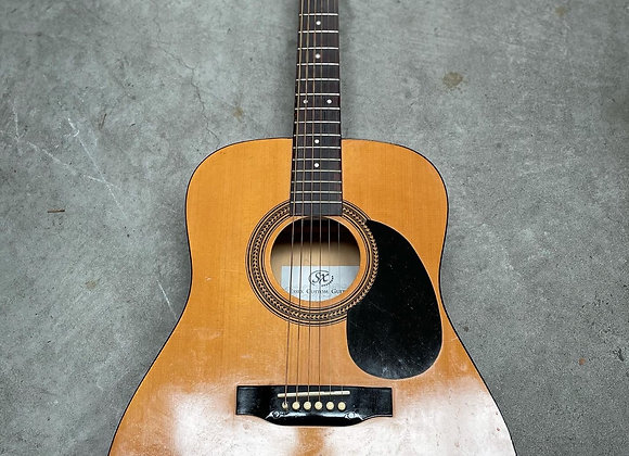 Traditional Acoustic Guitar manufactured by Essex Custom Guitars