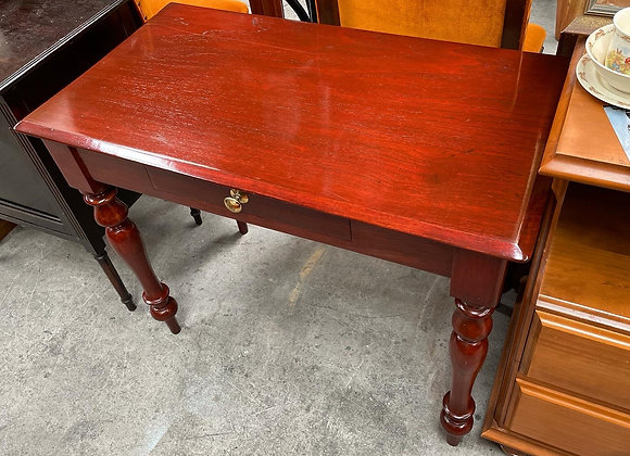 Antique Victorian 1 Drawer Desk/Hall Table in Excellent Condition