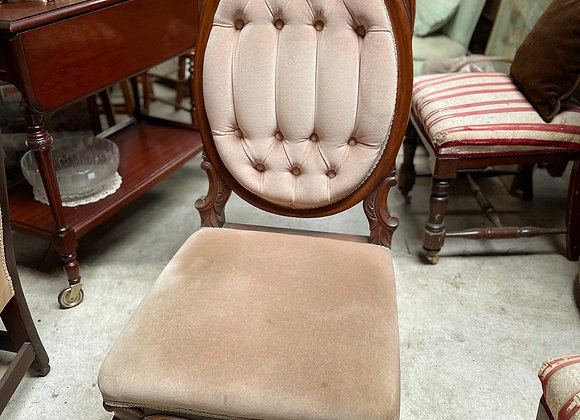 Beautiful Velvet Handcrafted Bedroom Grandmother Chair
