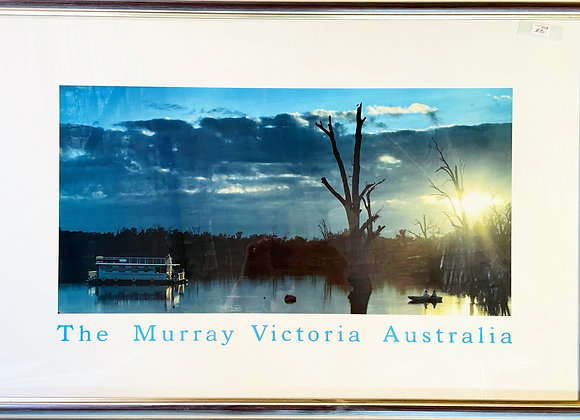 Beautiful Framed Print of Murray River, Victoria, Australia