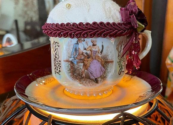 Decorative Japanese Cup & Saucer