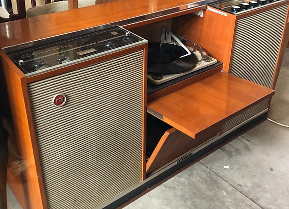 Australian made Fully Reconditioned Stereo Philips Glidomatic Radiogram