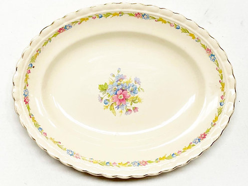 Genuine Antique J & G Meakin Ltd Serving Plate from C.1920s (England)