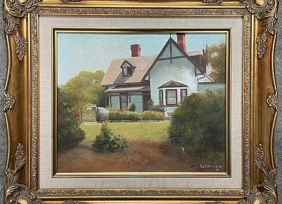 Absolutely Gorgeous Vintage Oil Painting Signed by W. Stanfield, 1992