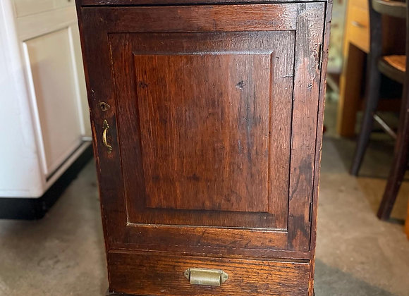 Original Solid Antique Filing Cabinet from C.18th Century