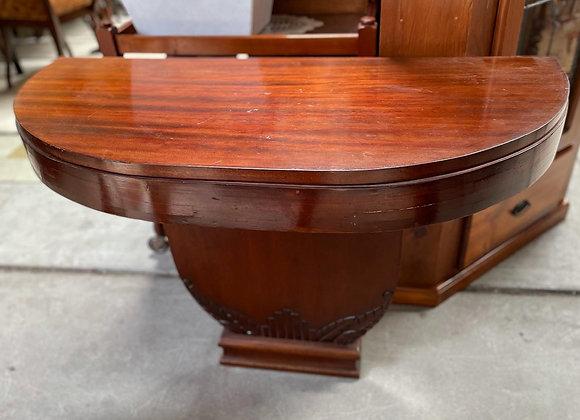 Impressive French Mahogany Art Deco Hall Table