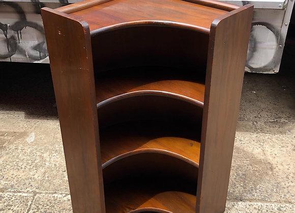 Pretty Corner Bookshelf