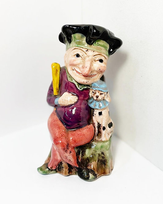 Collectible Vintage Jug Punch Character by 'H. Wain & Sons Ltd. Melba Works' (En