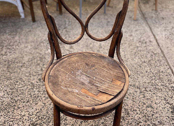 Authentic Vintage Wooden Bentwood Chair