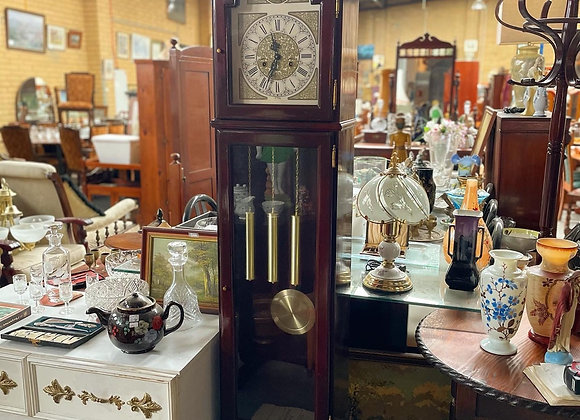 Stunning Vintage Tempus Fugit Pendulum Grandfather Clock
