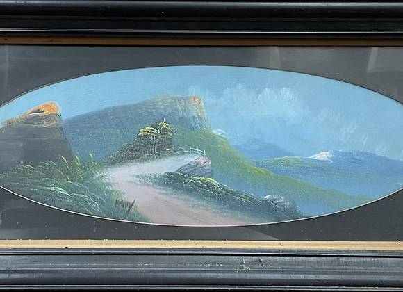 A Pair of Stunning Mountainous Landscape Artworks